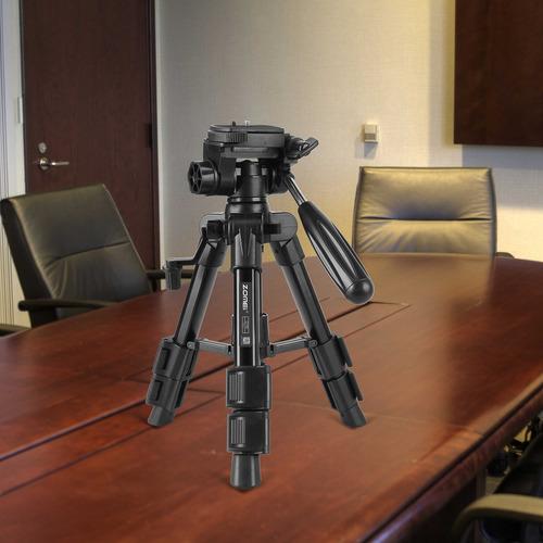 mini trípode para escritorio con trípode zomei con placa de