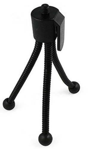 mini tripode universal flexible portable de metal camaras