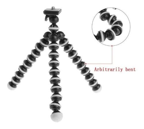 mini tripoide flexible con clip