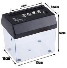 mini triturador de papel