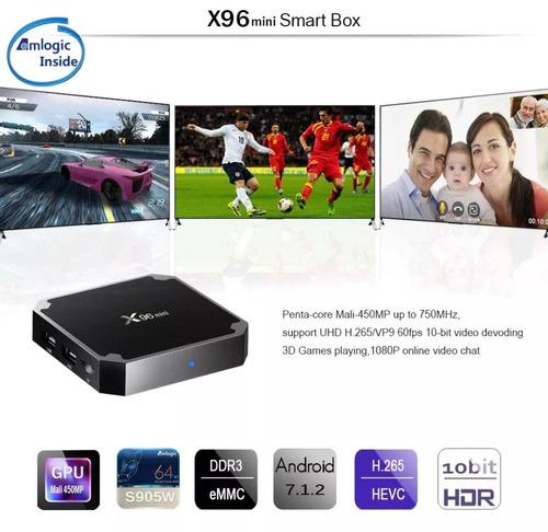 mini tv box android tx96