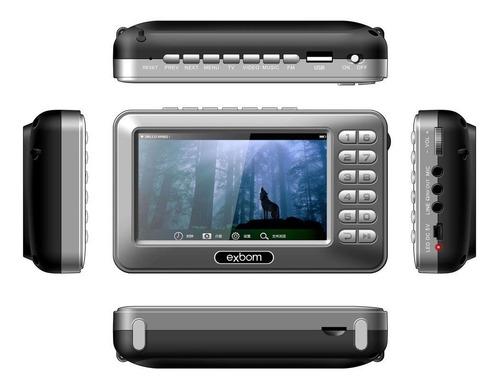 mini tv digital multimídia 4.3 - mtv-43a
