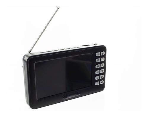 mini tv digital portatil videos filmes radio fm usb tf e91
