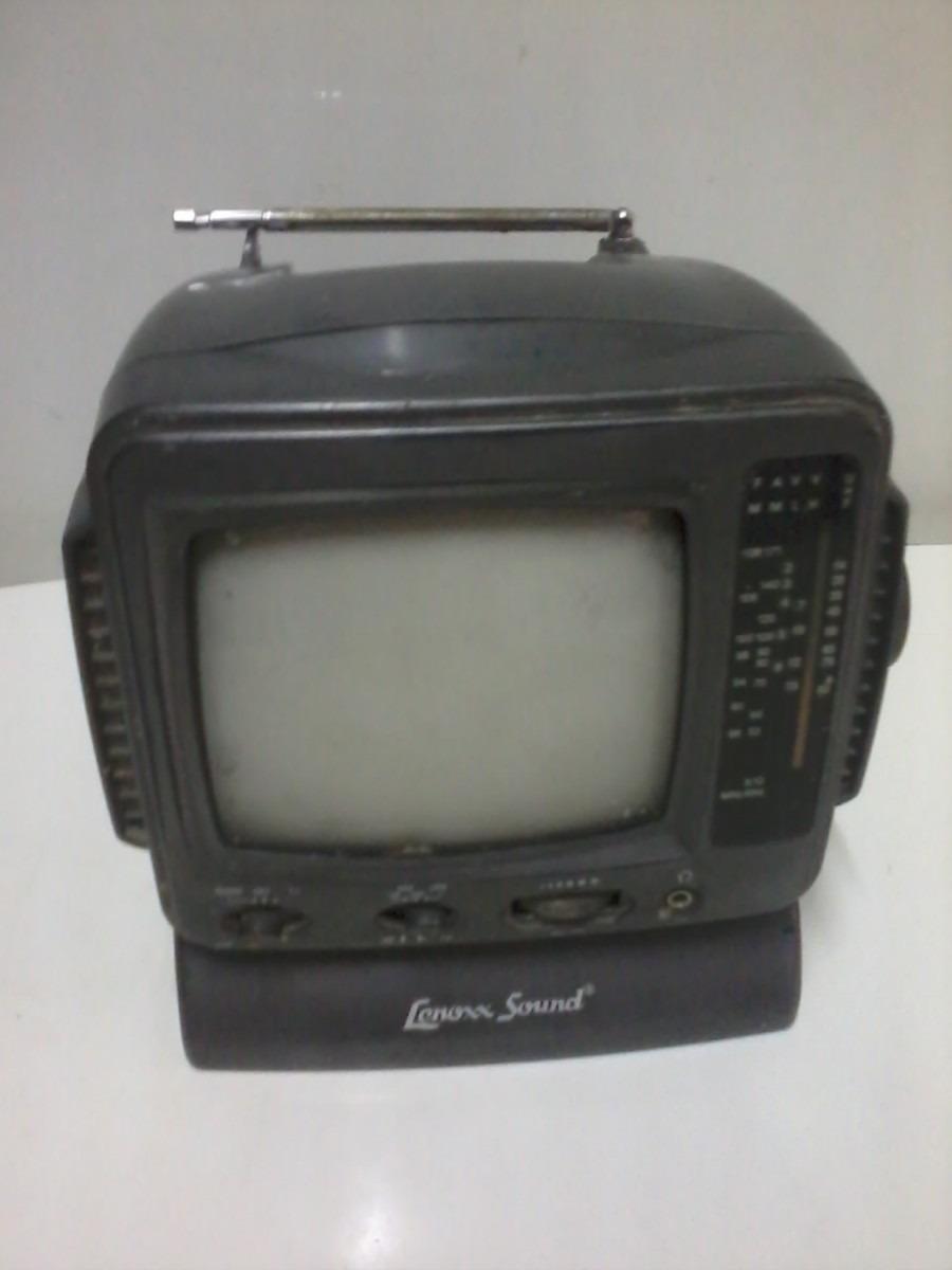 Mini Tv Portátil Lenoxx Sound 6 Polegadas - R$ 44,00 em ...