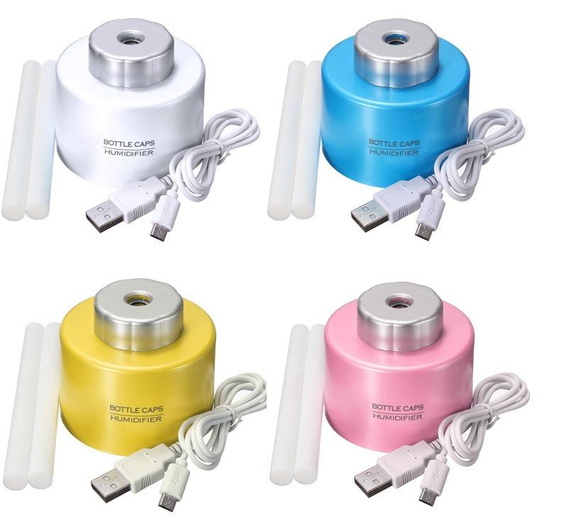 Mini Umidificador De Ar Condicionado Usb Garrafa Pet Agua R 4049