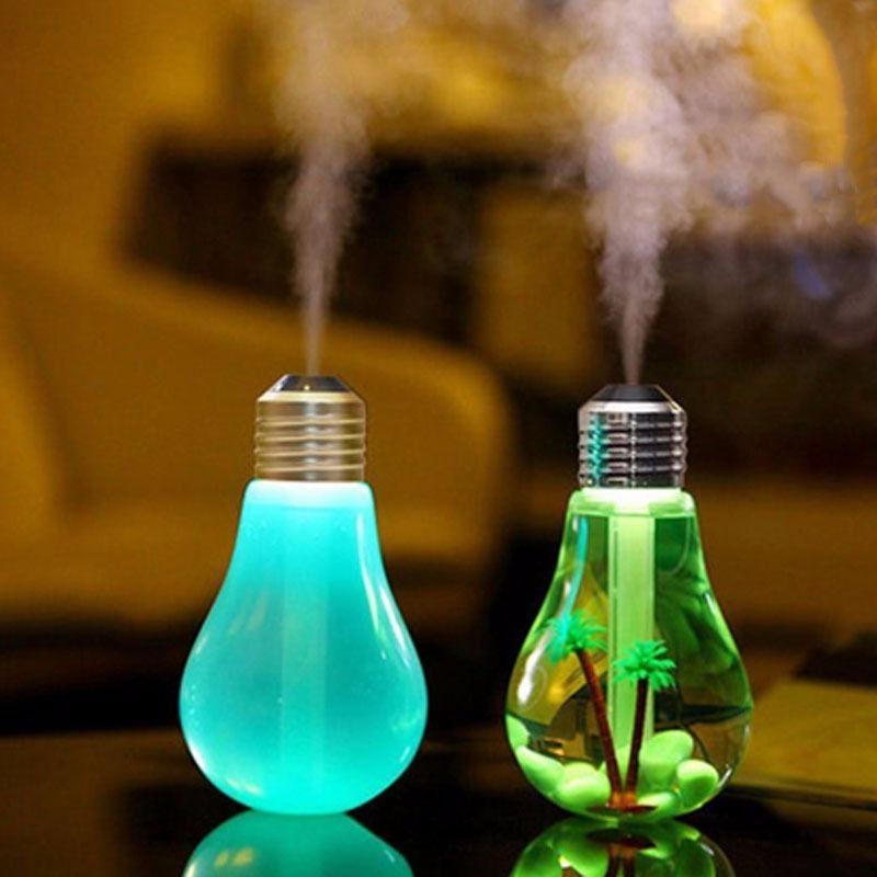 Mini Umidificador Lampada Usb Pode Colocar Essencia Cheiro