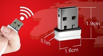 mini usb adaptador tarjeta wifi 150 n pc laptop envío gratis