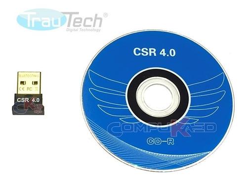 mini usb bluetooth 4.0 trautech para pc o laptop 50 metros