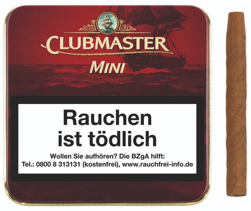 mini vainilla cigarro clubmaster pack x5 cigarrillo vainilla