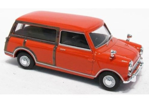 mini van 1/43 die cast metal cararama