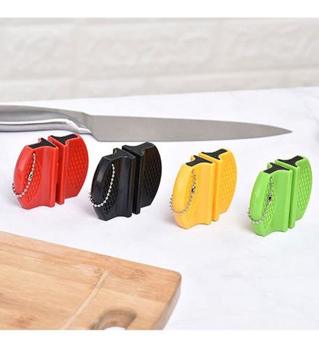 mini varilla de acero de tungsteno afilador de cuchillos de