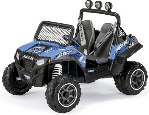 mini veículo polaris ranger rzr 900 blue - peg pérego