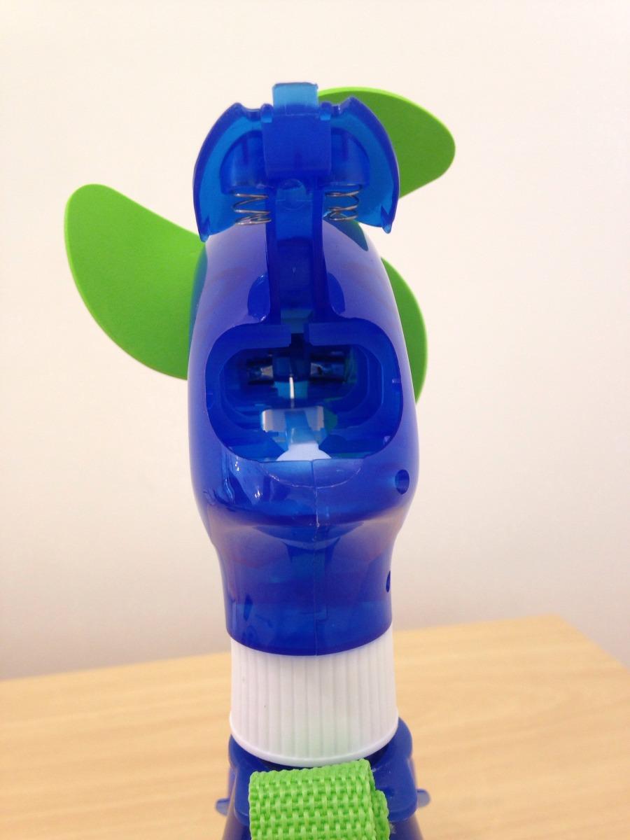 Mini ventilador borrifador gua spray disney portatil - Ventilador de agua ...