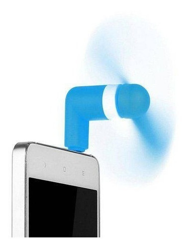 mini ventilador celular android samsung iphone kit 50 un