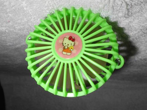 mini ventilador conejo pila portátil mesa blanco cotillon