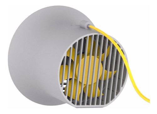 mini ventilador de mesa usb baseus horn