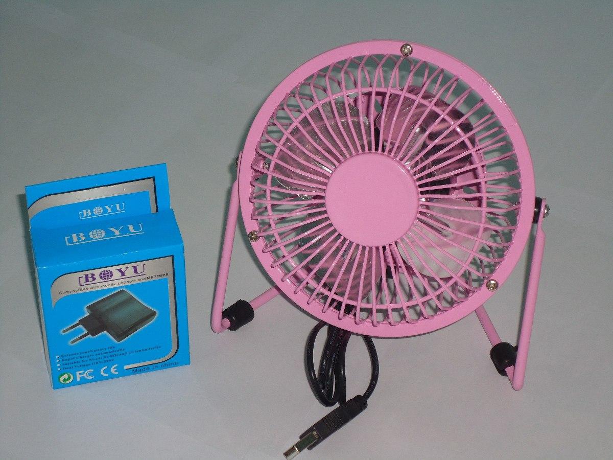 Mini ventilador de mesa usb em metal para notebook e pc - Ventilador de mesa ...