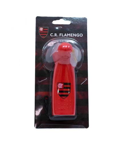 mini ventilador de mão com mensagem do flamengo oficial