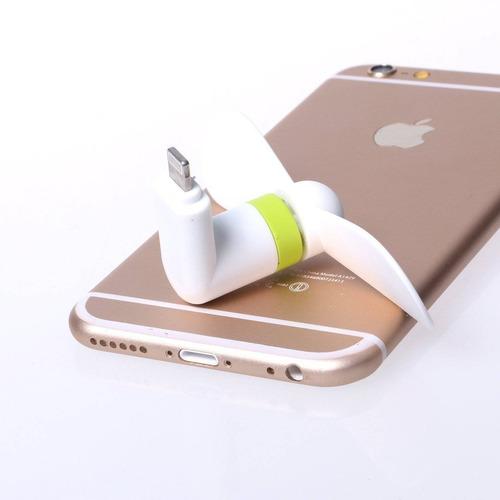 mini ventilador del iphone (2 paquetes), asst + envio gratis