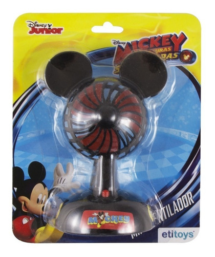 mini ventilador infantil potente mickey mouse disney