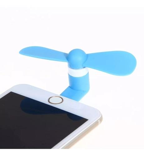 mini ventilador iphone 5 5s 6 6s 7 7s 8 plus acessório