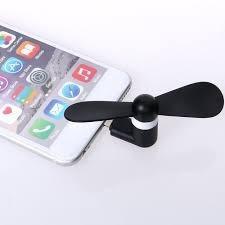 mini ventilador p/ smartphone portable para calor en lima