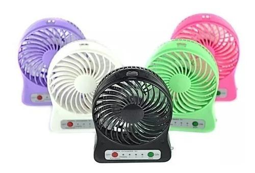 mini ventilador portatil bateria recargable 3 velocidades