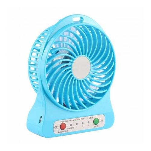 mini ventilador portatil recargable usb colores