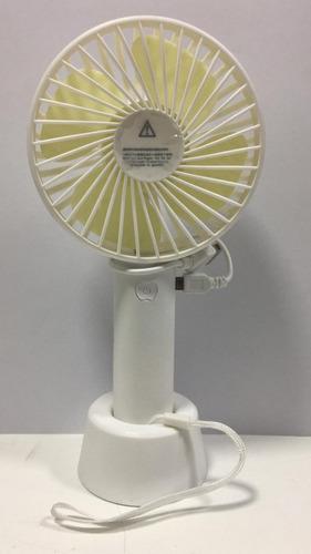 mini ventilador portátil recarregável via usb