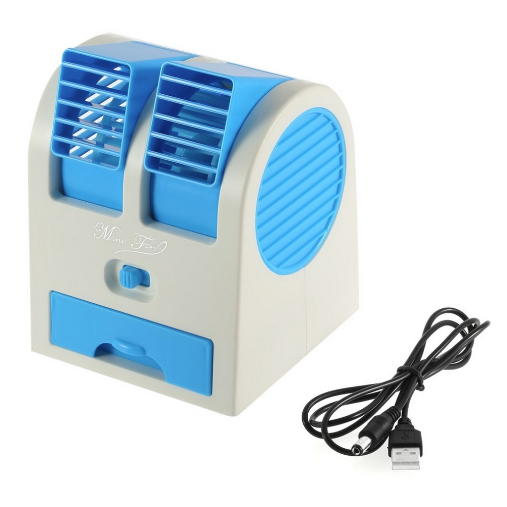 Mini Ventilador Port 225 Til Usb Ar Condicionado Aroma Pc R