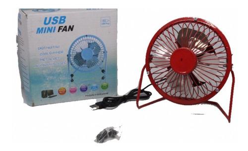 mini ventilador portatil usb  (mayoreo) modelo fan-815