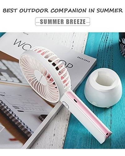 mini ventilador potente con luz led excelente calidad!