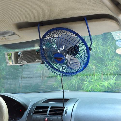 mini ventilador usb metálico fuerte para escritorio o carro