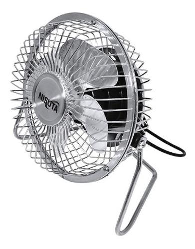 mini ventilador usb nisuta escritorio apto 220v