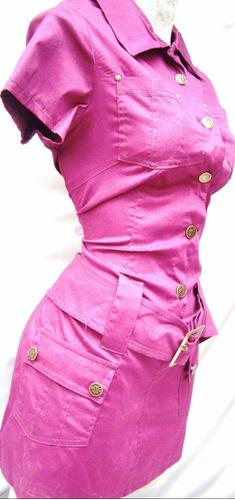 mini vestido bluson mezclilla tambien tallas extras