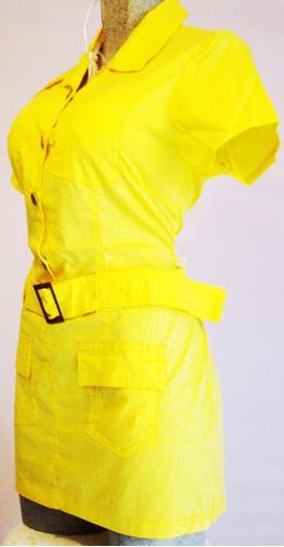 mini vestido bluson popelina algodon moda y confort