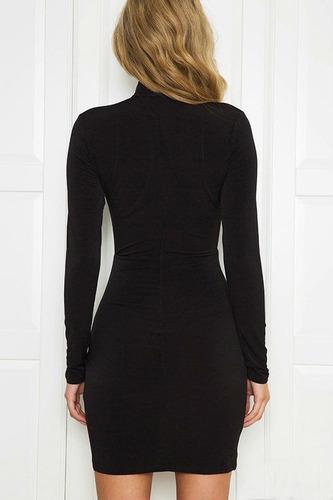 mini vestido casual
