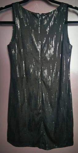 mini vestido de fiesta (nuevo) talla s detalle lentejuelas