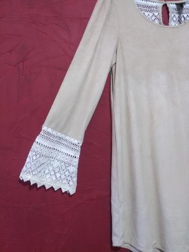 mini vestido trixxi bohemio vintage camison bluson tunica