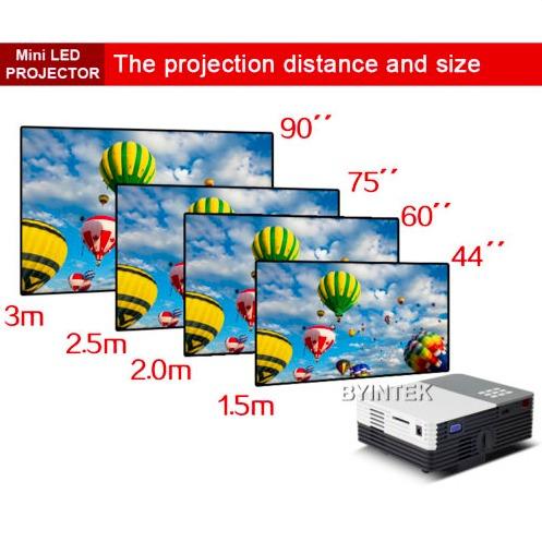 mini video beam proyector 3d texto powerpoint gratis telon
