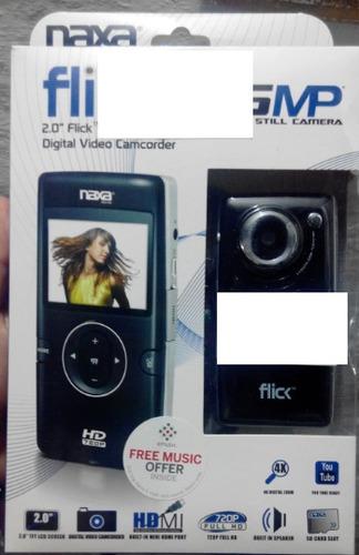 mini video camara digital flick hd de 5mp