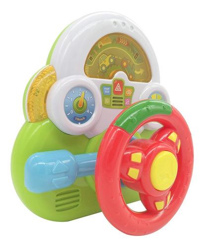 mini volante didactico con luces primera infancia poppi 6755
