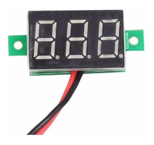 mini voltimetro panel digital de 4.5 a 30 vdc arduino