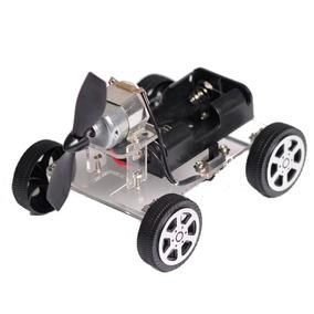 Mini Wind Coche Diy Rompecabezas Robot Equipo Para Arduino