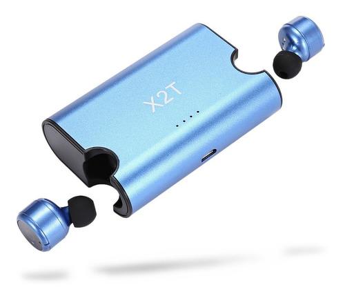 mini x2t manos libres auricular inalámbrico bluetooth doble