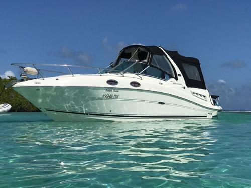 mini yate sea ray sundancer #222