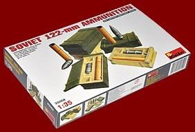 miniart 35068 - soviet 122-mm ammunition - escala 1/35