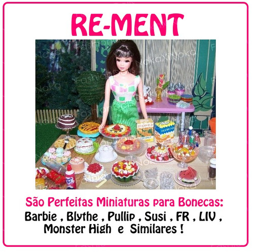 miniarura de cd para barbie * blythe * pullip dal re-ment