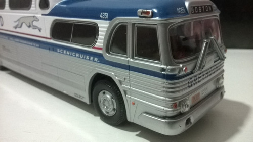 miniatura 1/50 corgi onibus greyhound scenicruiser boston