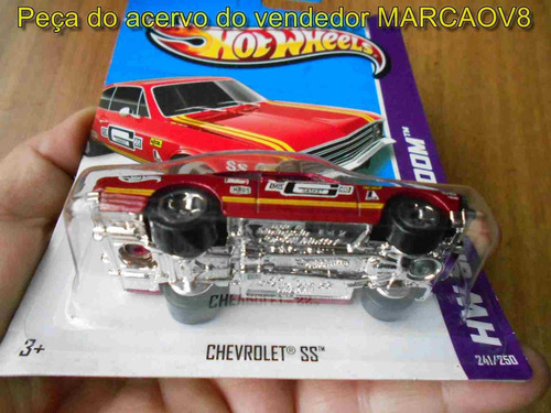miniatura 1:64 hot wheels do chevrolet opala ss vermelho